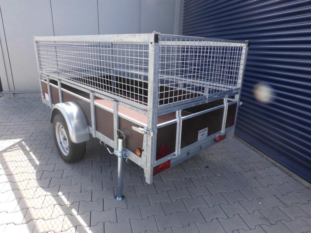 1.32 x 2.57 - 1000kg - bakwagen - loofrekken - 1050 inc 2