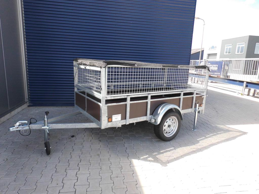 1.32 x 2.57 - 1000kg - bakwagen - loofrekken - 1050 inc 3