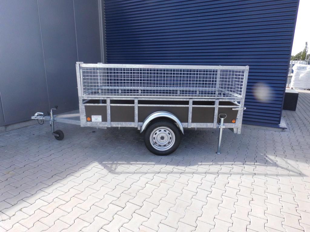 1.32 x 2.57 - 1000kg - bakwagen - loofrekken - 1050 inc