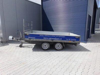 1.80x3-kipper tandemasser-2700kg-driezijdig-50 euro incl 2