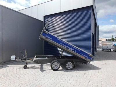 1.80x3-kipper tandemasser-2700kg-driezijdig-50 euro incl 4