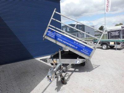 1.80x3-kipper tandemasser-2700kg-driezijdig-50 euro incl 8