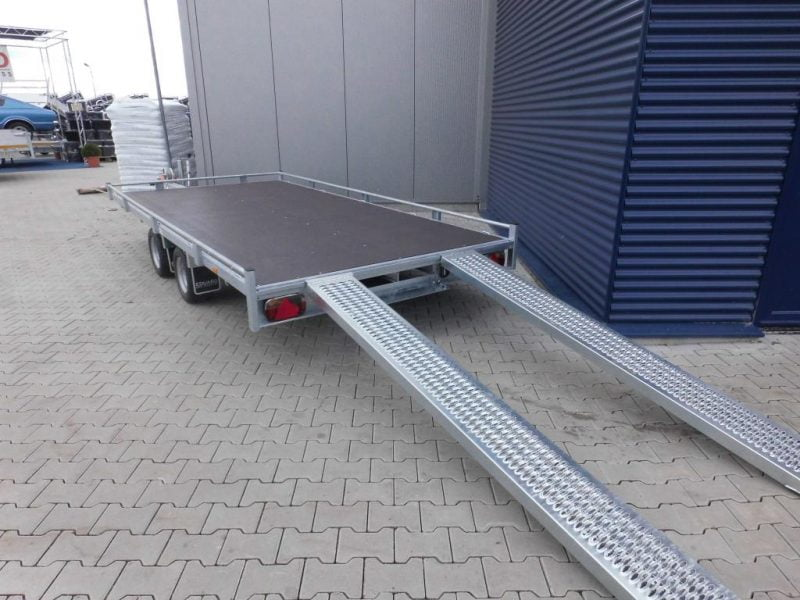 oprijplaat 20x150 aluminium